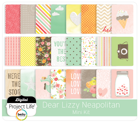 Dear Lizzy Neapolitan Mini Kit