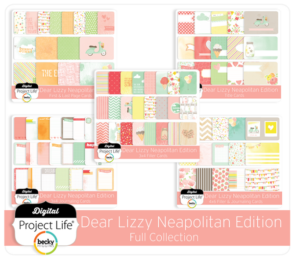 Dear Lizzy Neapolitan Edition Full Collection