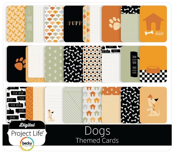 Dogs Themed Cards