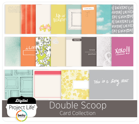 Double Scoop Card Collection