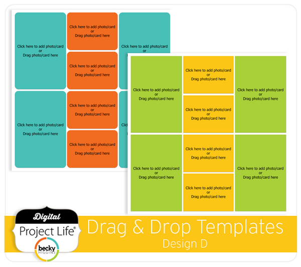 Drag & Drop Templates Design D