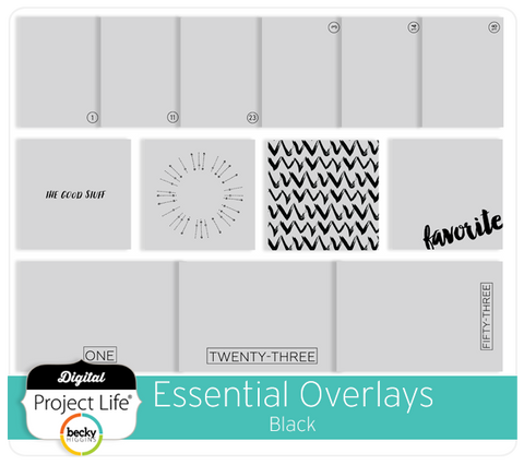 Essential Overlays - Black