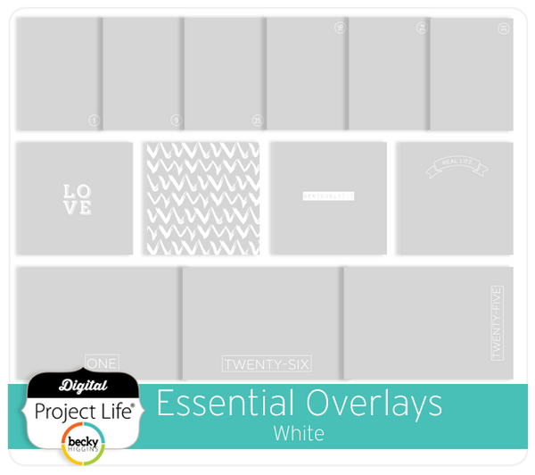 Essential Overlays - White
