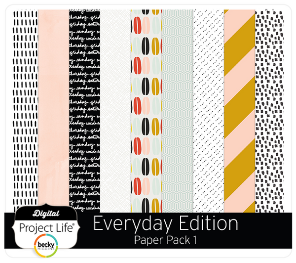 Everyday Edition Paper Pack 1