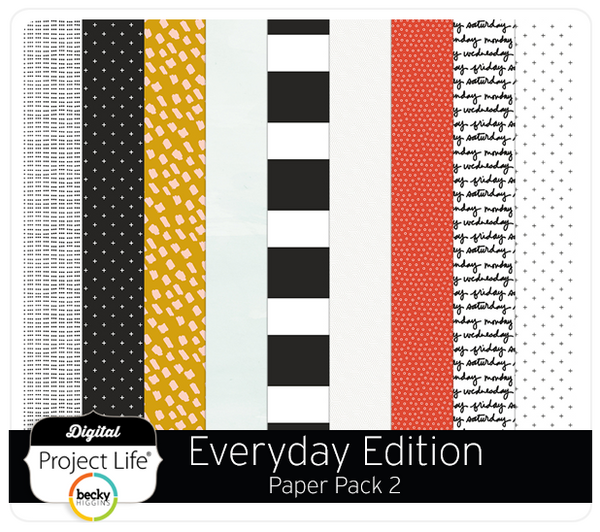 Everyday Edition Paper Pack 2