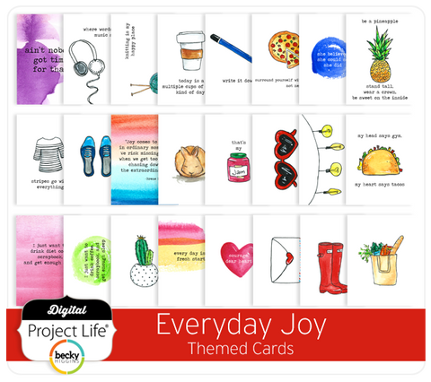 Everyday Joy Themed Cards