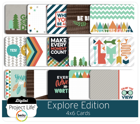 Explore Edition 4x6 Cards