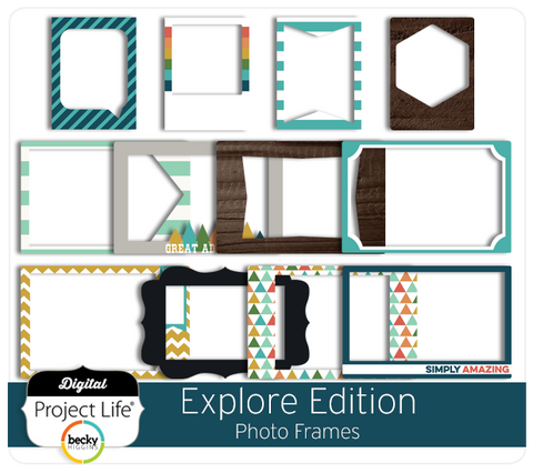 Explore Edition Photo Frames
