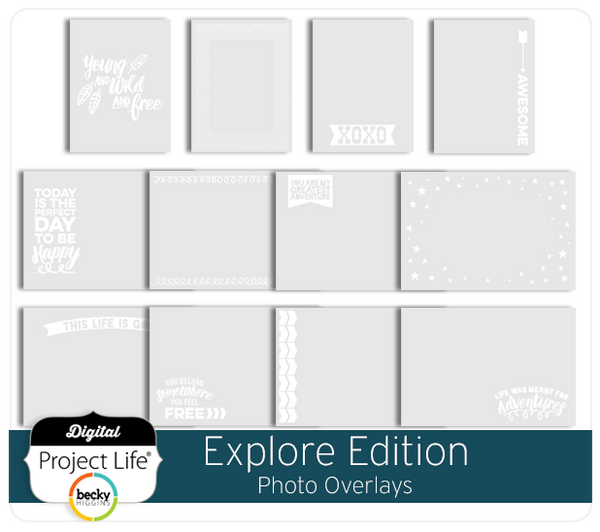 Explore Edition Photo Overlays