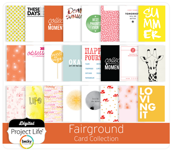 Fairground Card Collection
