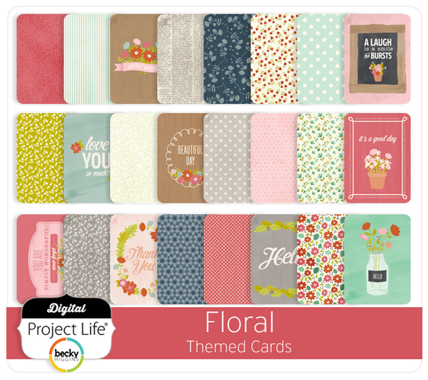 Floral Themed Cards