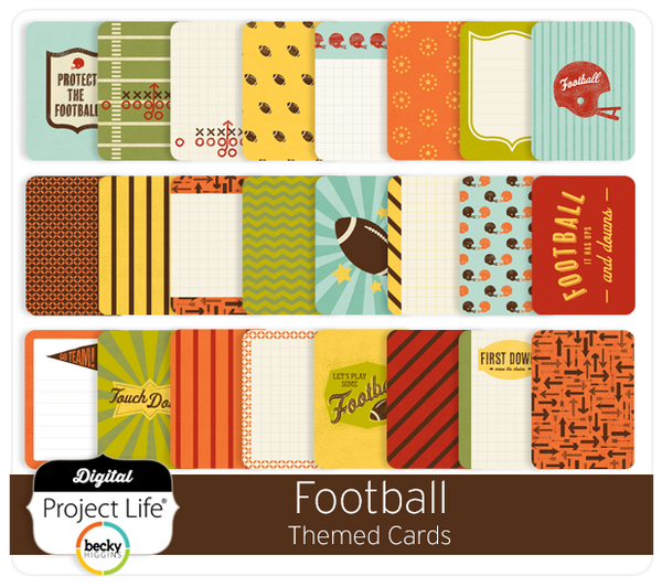 Football Themed Cards