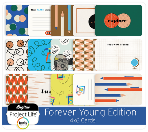 Forever Young Edition 4x6 Cards