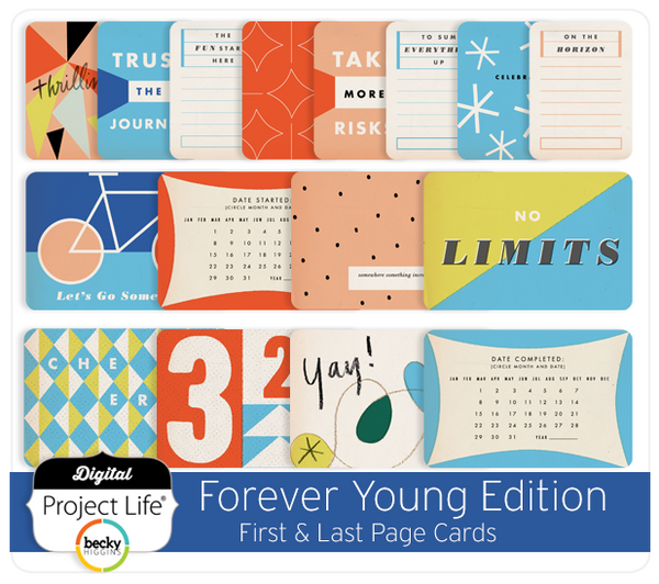 Forever Young Edition First & Last Page Cards