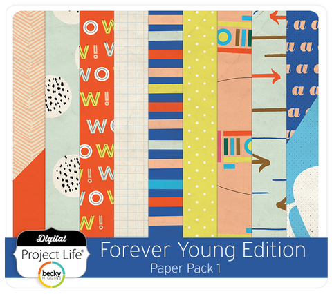 Forever Young Edition Paper Pack 1