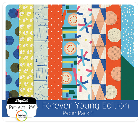 Forever Young Edition Paper Pack 2