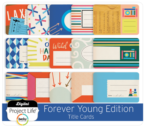 Forever Young Edition Title Cards