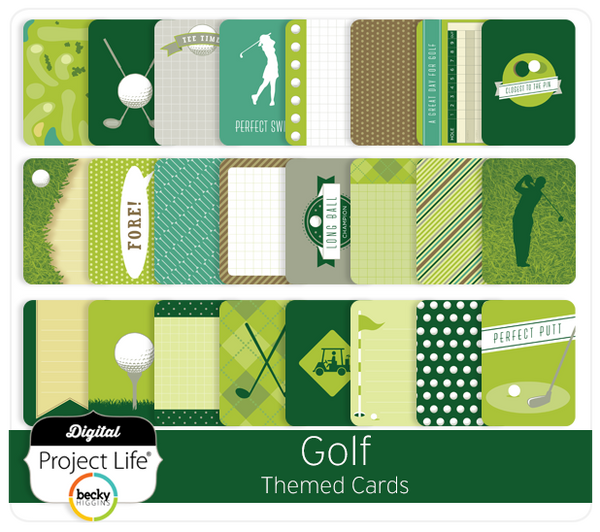 Golf Themed Cards