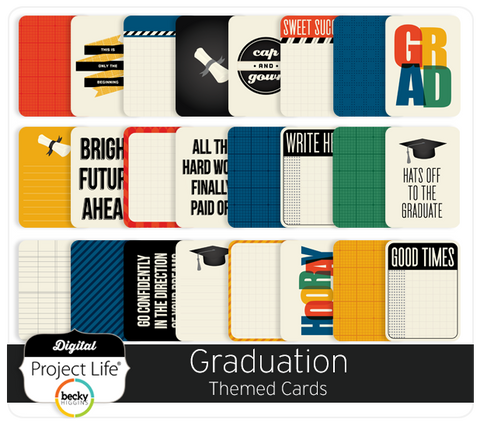 Graduation Themed Cards