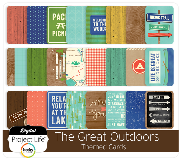 The Great Outdoors Themed Cards