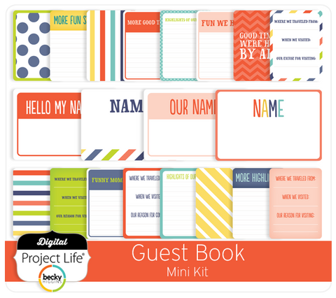 Guest Book Mini-Kit