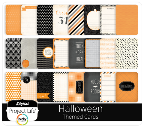Halloween Themed Cards