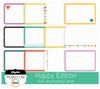 Happy Edition 4x6 Bi-Fold Journaling Cards