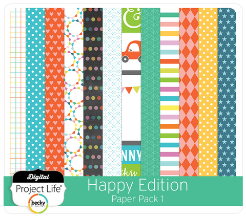 Happy Edition Paper Pack 1
