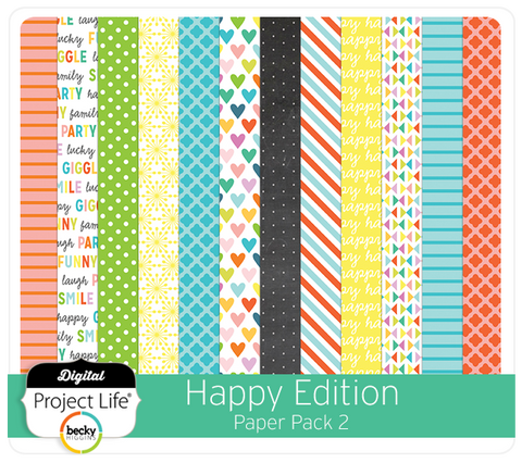 Happy Edition Paper Pack 2