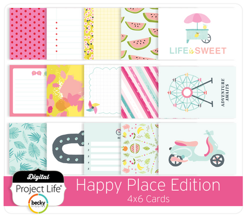 Happy Place Edition 4x6 Cards