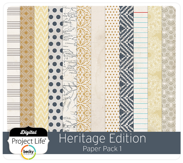 Heritage Edition Paper Pack 1