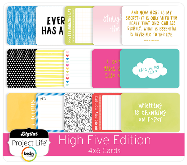 High Five Edition 4x6 Cards
