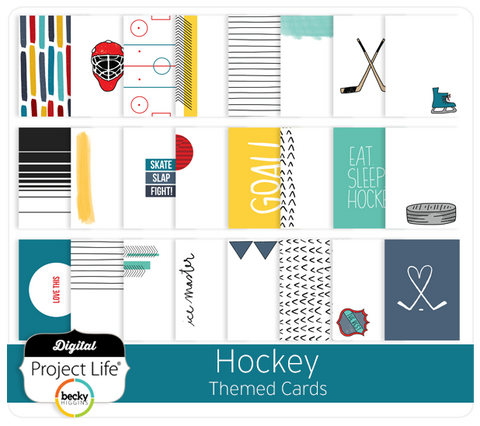 Hockey Themed Cards