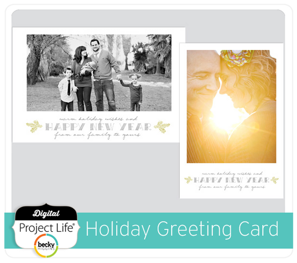Holiday Greeting Card Freebie