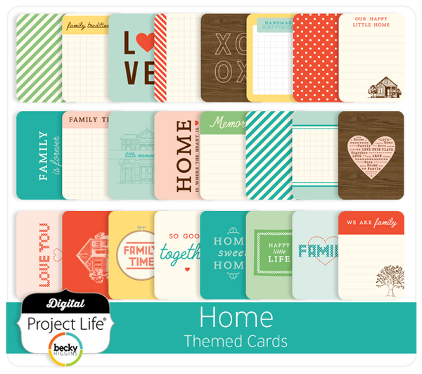 Home Themed Cards