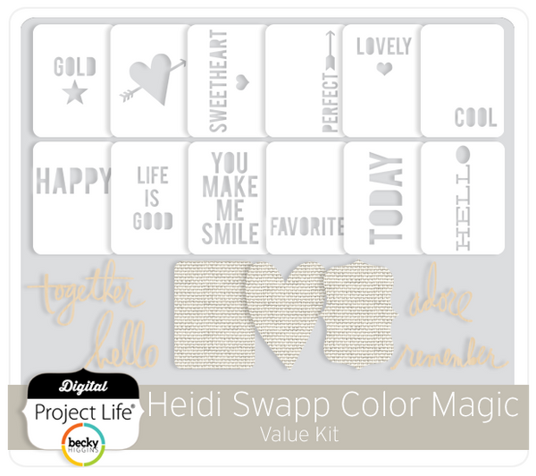 Heidi Swapp Color Magic Value Kit