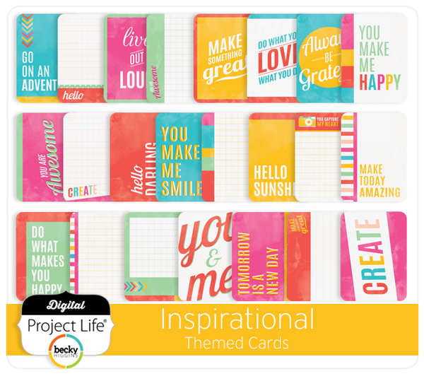 Inspirational Themed Cards