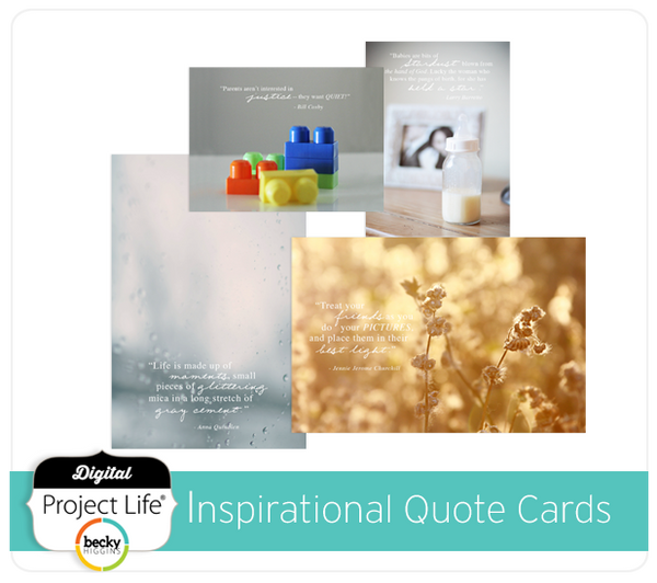 Inspirational Quotes Free Card Set