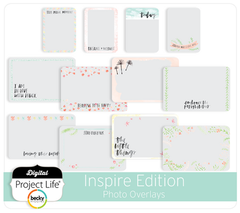 Inspire Edition Photo Overlays