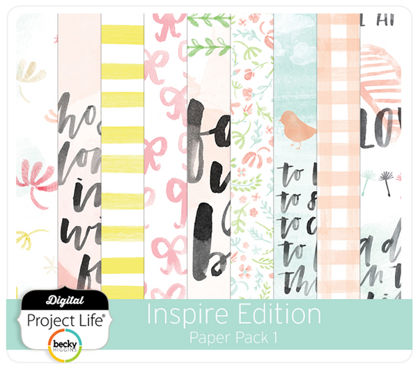 Inspire Edition Paper Pack 1