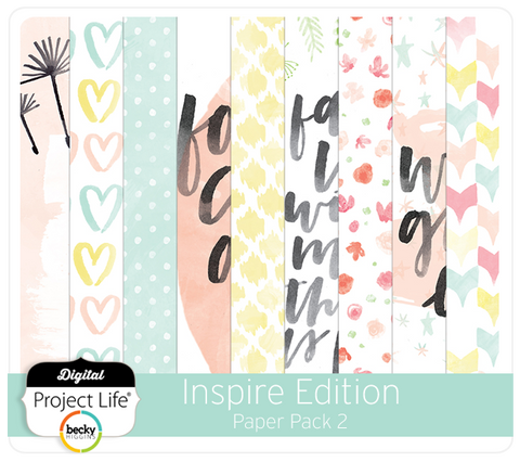 Inspire Edition Paper Pack 2
