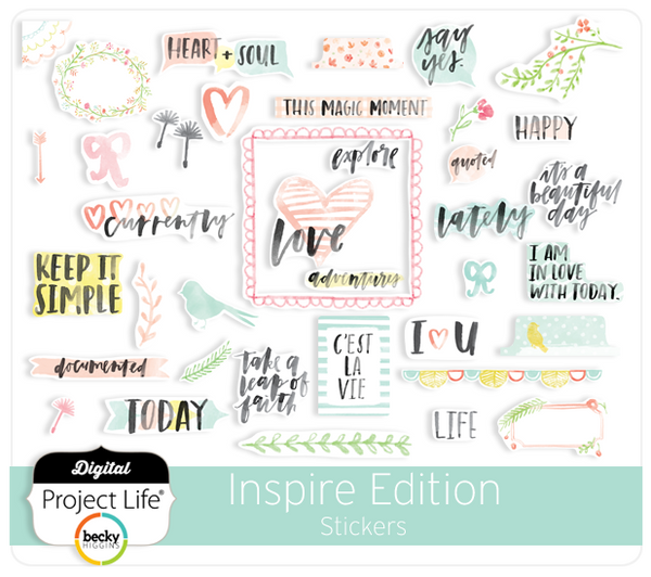 Inspire Edition Stickers