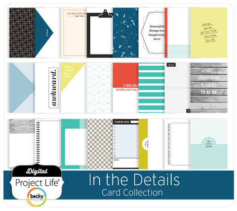 In the Details Card Collection