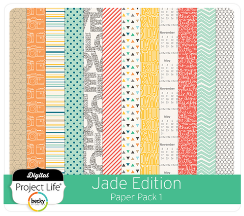 Jade Edition Paper Pack #1