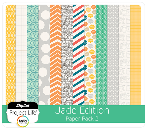 Jade Edition Paper Pack #2