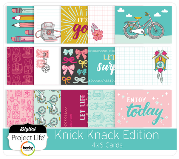 Knick Knack Edition 4x6 Cards