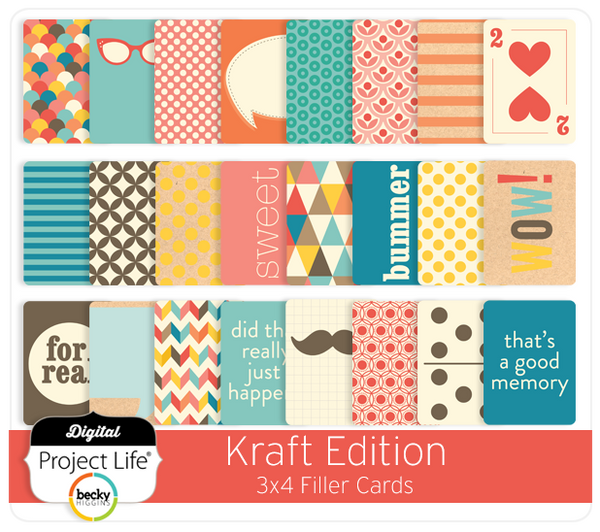 Kraft Edition Filler Cards