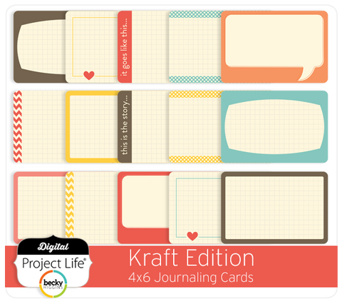 Kraft Edition Bi-Fold Cards