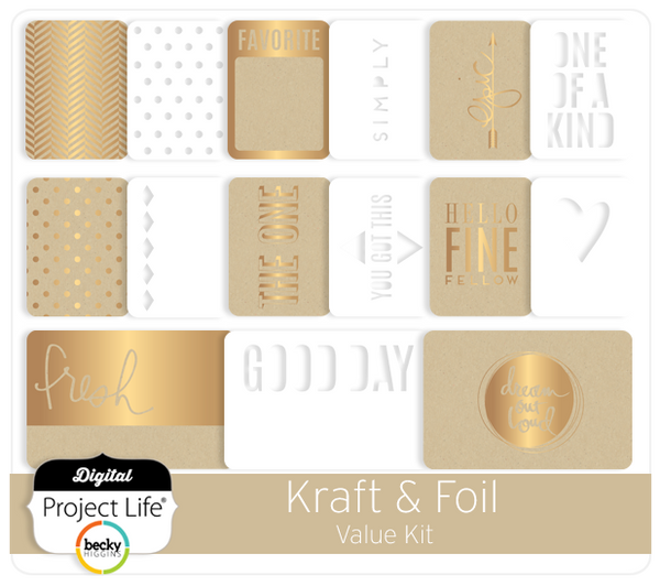 Kraft & Foil Value Kit