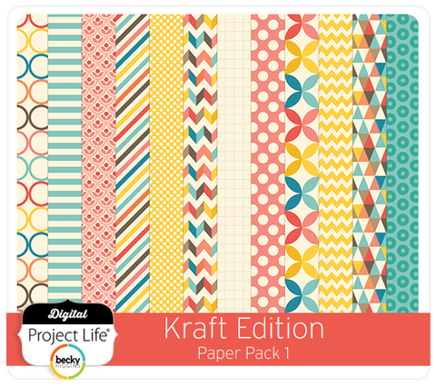 Kraft Edition Paper Pack #1